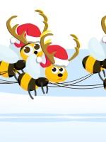 Santa and bees