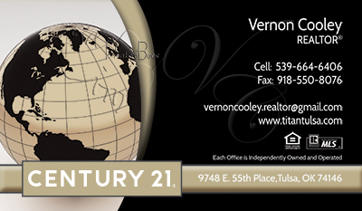 PrintForLessCanadacom  Century 21 Business Cards Full