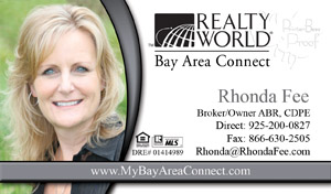 Realty World Business Cards