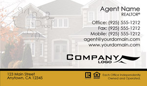 Century 21 business card sample