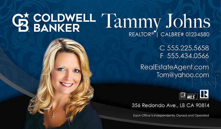Coldwell Banker Business Card Template 1