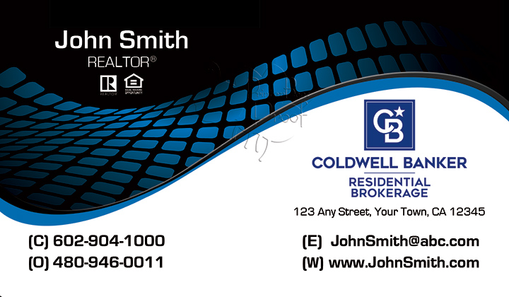 Coldwell Banker Business Card Template 5