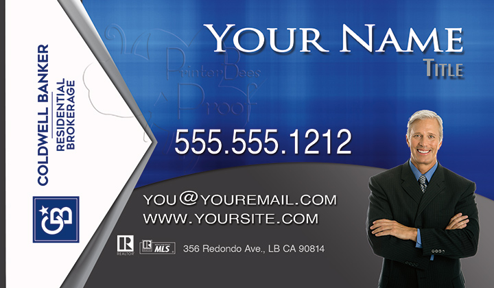 Coldwell Banker Business Card Template 7