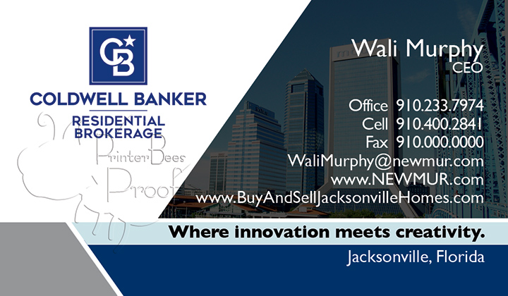 Coldwell Banker Business Card Template 8