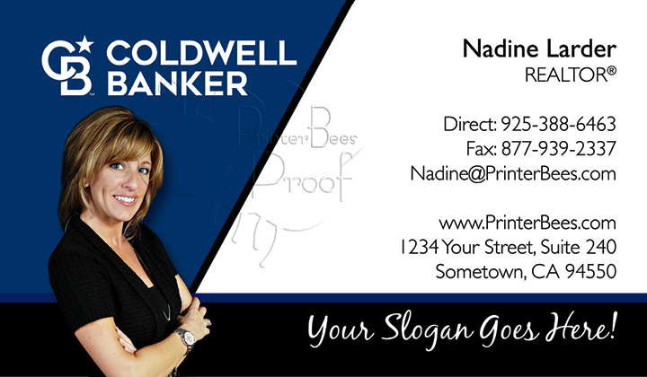 Coldwell Banker Business Card Template 10