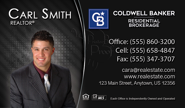 Coldwell Banker Business Card Template 11