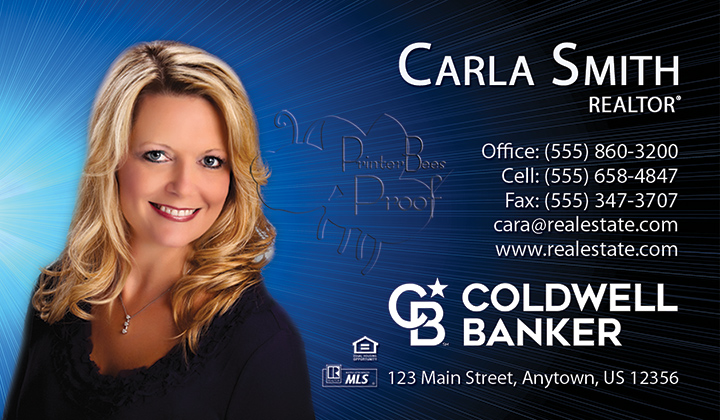 Coldwell Banker Business Card Template 14