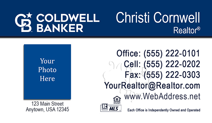 Coldwell Banker Business Card Template 15