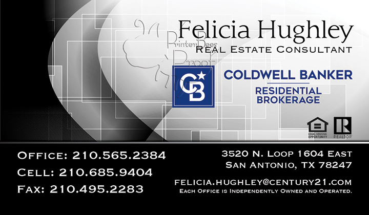 Coldwell Banker Business Card Template 18