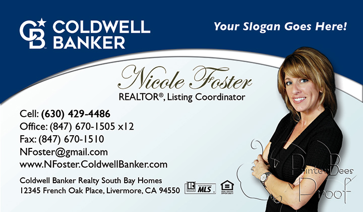 Coldwell Banker Business Card Template 19
