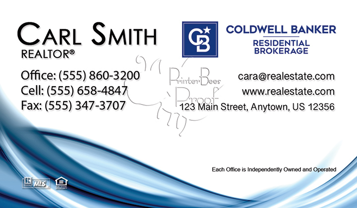 Coldwell Banker Business Card Template 20