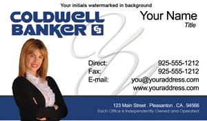 Coldwell Banker Business Card Template 27