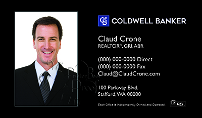 Coldwell Banker Business Card Template 29
