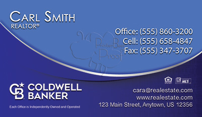 Coldwell Banker Business Card Template 24