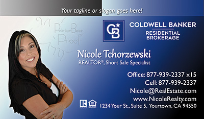 Coldwell Banker Business Card Template 22