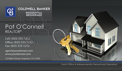 Coldwell Banker Business Card Template 25