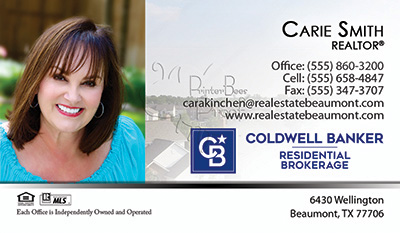 Coldwell Banker Business Card Template 28