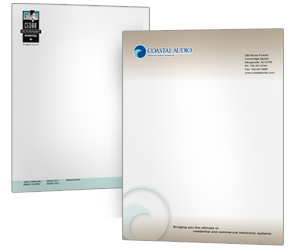 Letterhead 1000 Pieces Of Custom Printed Color